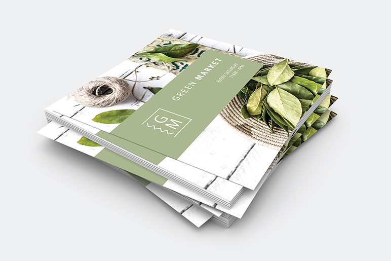 Square Flyers & Leaflets